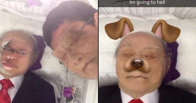 muerto snapchat