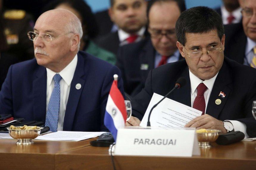 Eladio Loizaga y Horacio Cartes