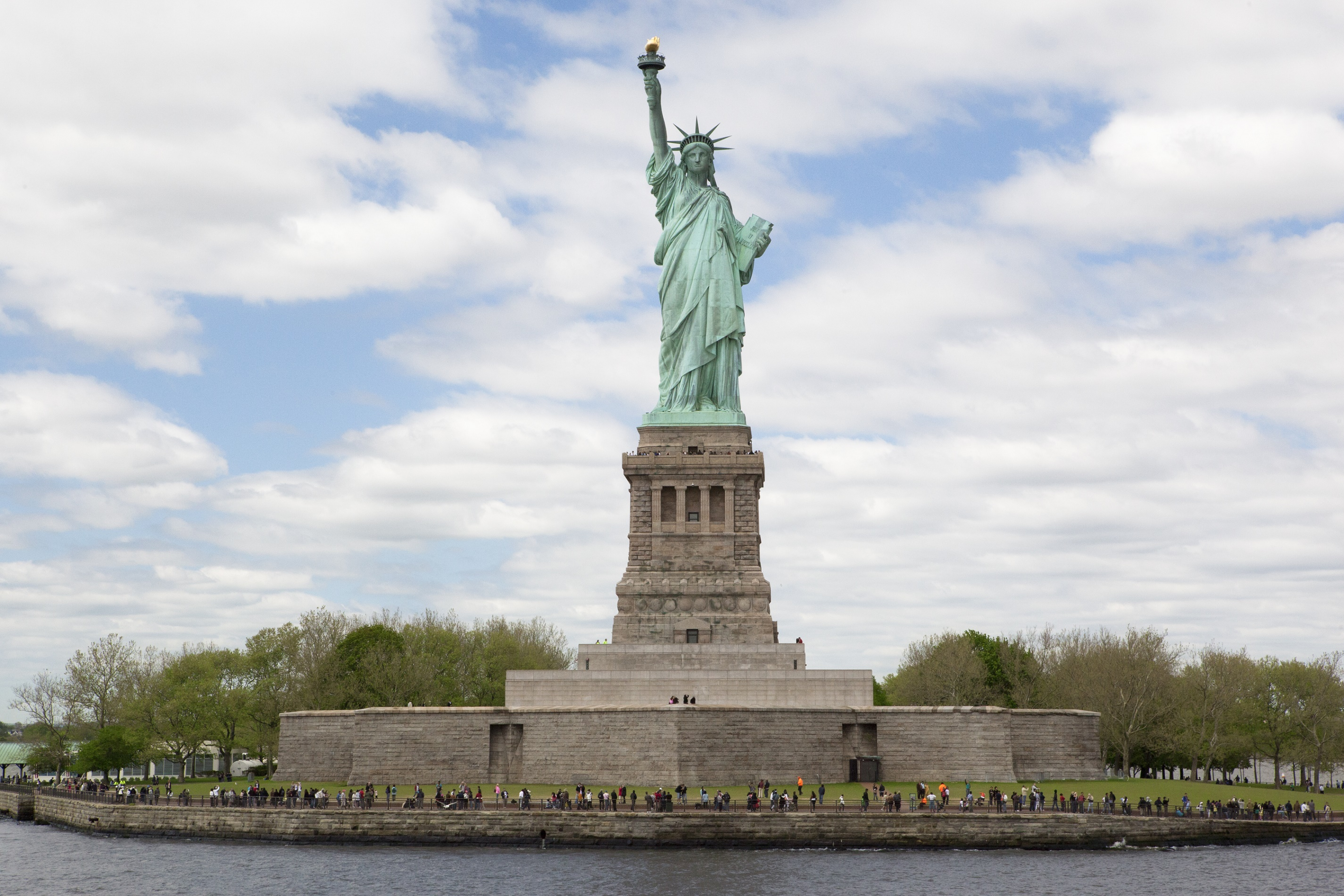 Statue of Liberty on Liberty Island
