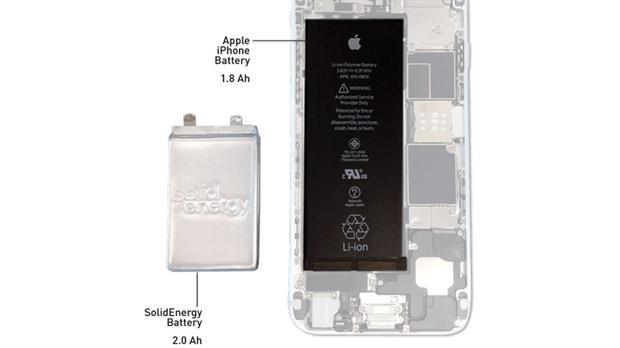 La nueva generación de baterías pueden duplicar la capacidad de los actuales modelos, según el fabricante de SolidEnergy Systems.