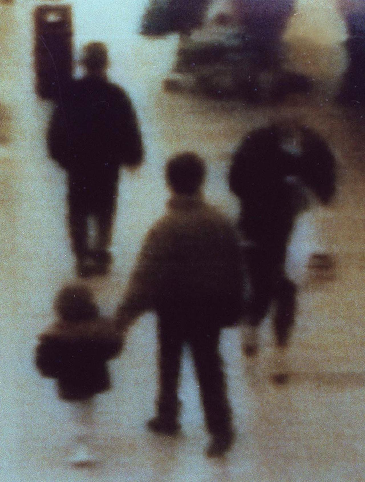 Robert Thompson y Jon Venables, dos niños de 10 años, llevan de un centro comercial de Liverpool (Reino Unido) al pequeño James Bulger. Ese mismo día, 12 de febrero de 1993, lo asesinan luego de torturarlo.