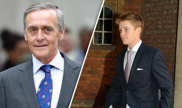 El Duque de Westminster, Gerald Cavendish Grovesnor, de 64 años murió de y su único hijo varón Hugh