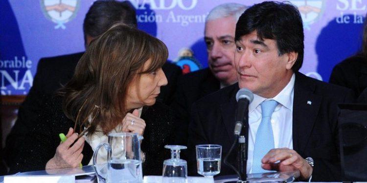 Angelina Abbona y Carlos Zannini