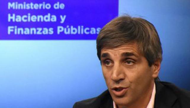 Luis Caputo, secretario de Finanzas