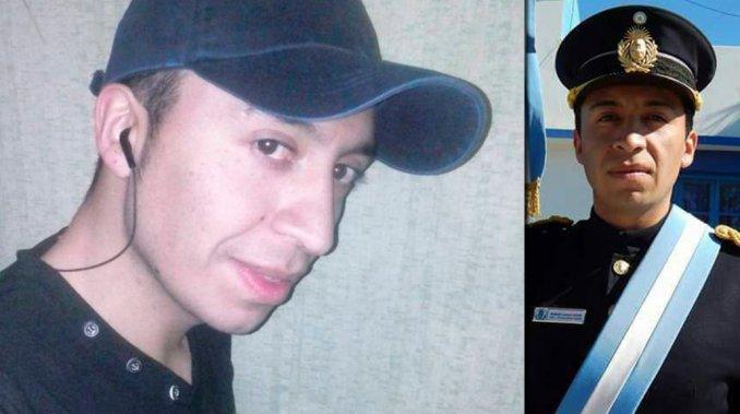 El agente Lucas Muñoz (29).