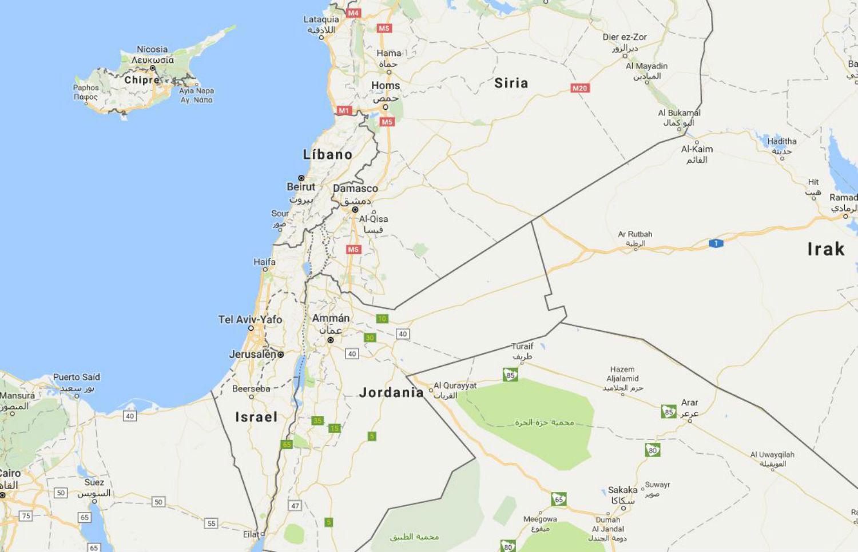 palestina google maps