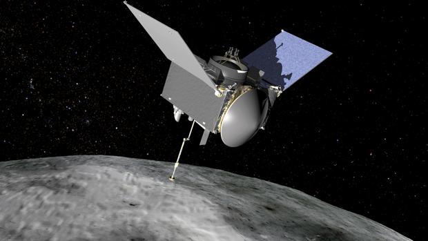 Recreación de lá la misión OSIRIS-REx al asteroide Bennu