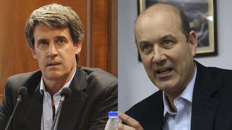 El ministro de Hacienda, Alfonso Prat-Gay, y el presidente del BCRA, Federico Sturzenegger