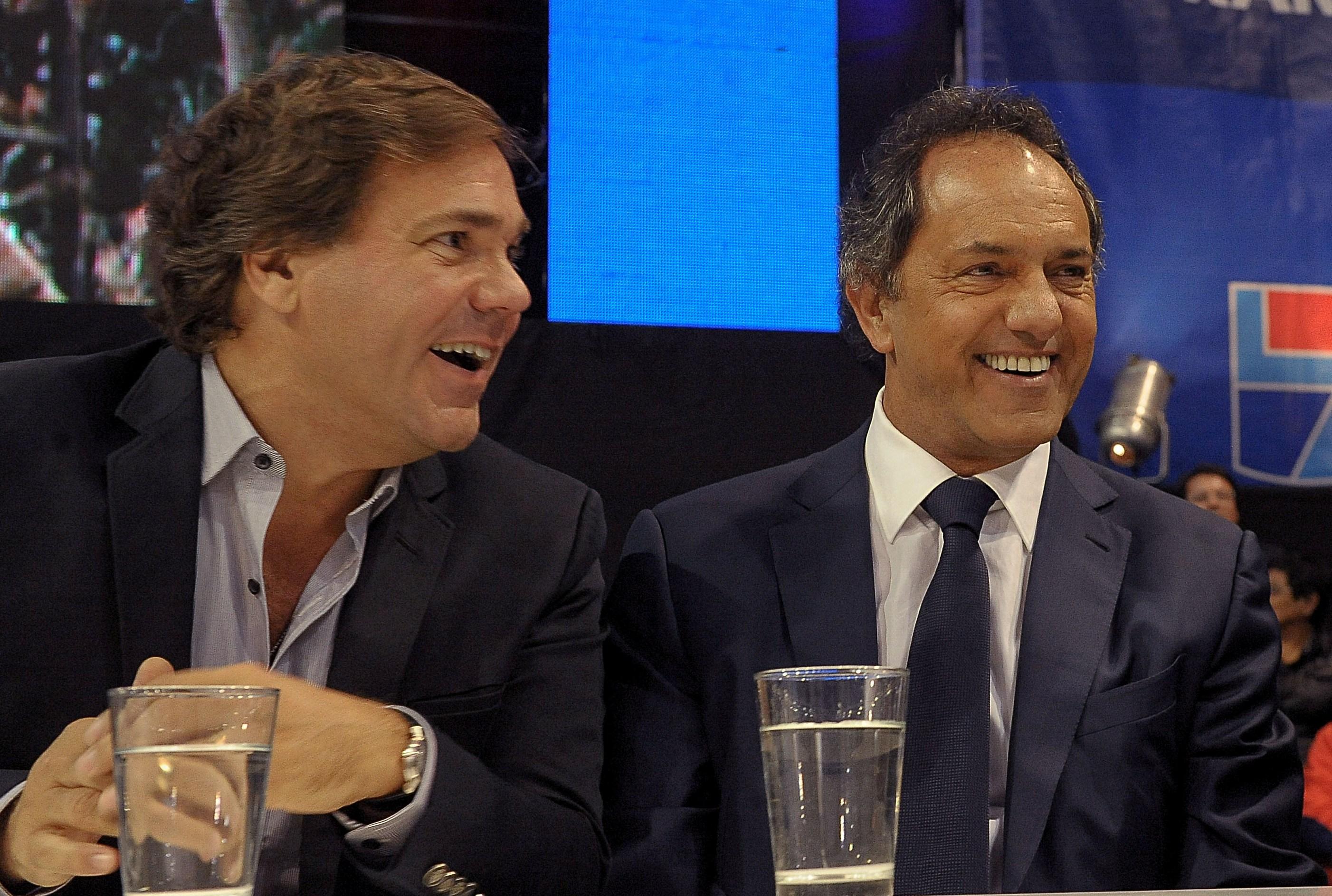 Alberto Pérez y Daniel Scioli