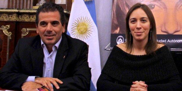 Cristian Ritondo ministro de seguridad de María Eugenia Vidal en la Provincia de Buenos Aires