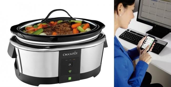 Este aparato, que se activa con una aplicación, permite empezar a preparar la comida a distancia a cualquier hora.