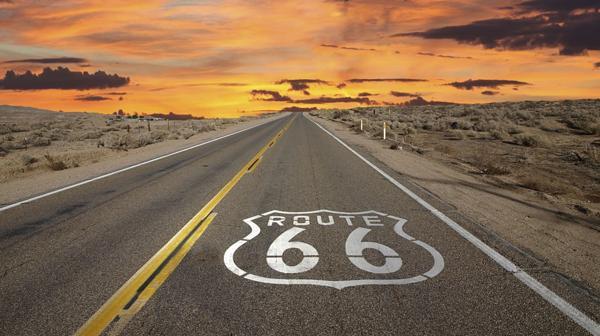 10) Route 66, Estados Unidos