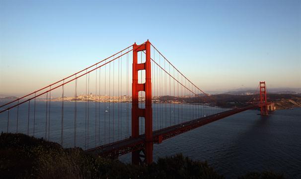 San Francisco: noviembre. La ciudad del Golden Gate reduce sus noches de hotel en un 50 %.