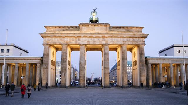 Berlin: agosto. La capital alemana tiene precios alrededor de los US$ 100 en hoteles.