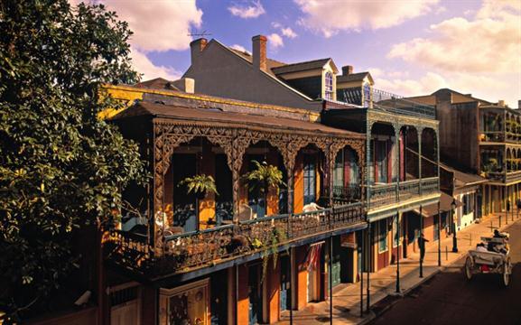 Nueva Orleans: octubre. Los precios bajan un 34 % en comparación a lo habitual.