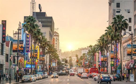 Los Ángeles: enero. Se puede ahorrar un 33 % en hoteles en esta época.