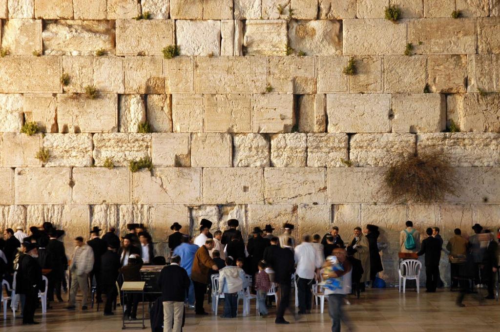 Judaísmo: Muro de los Lamentos, Jeresulen, Israel