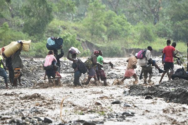 haiti huracan matthew