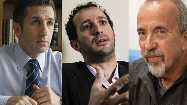 Juan Galarreta, Nicolás Schiavio y Mario Juliano, tres los jueces criticados por sus fallos