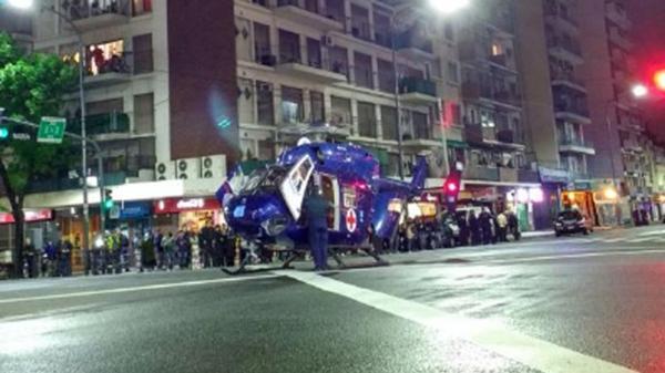 motochorros matan policia