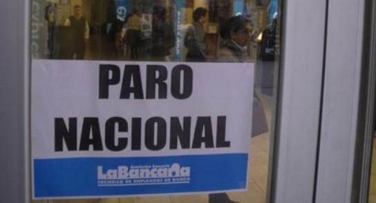 paro nacional bancos