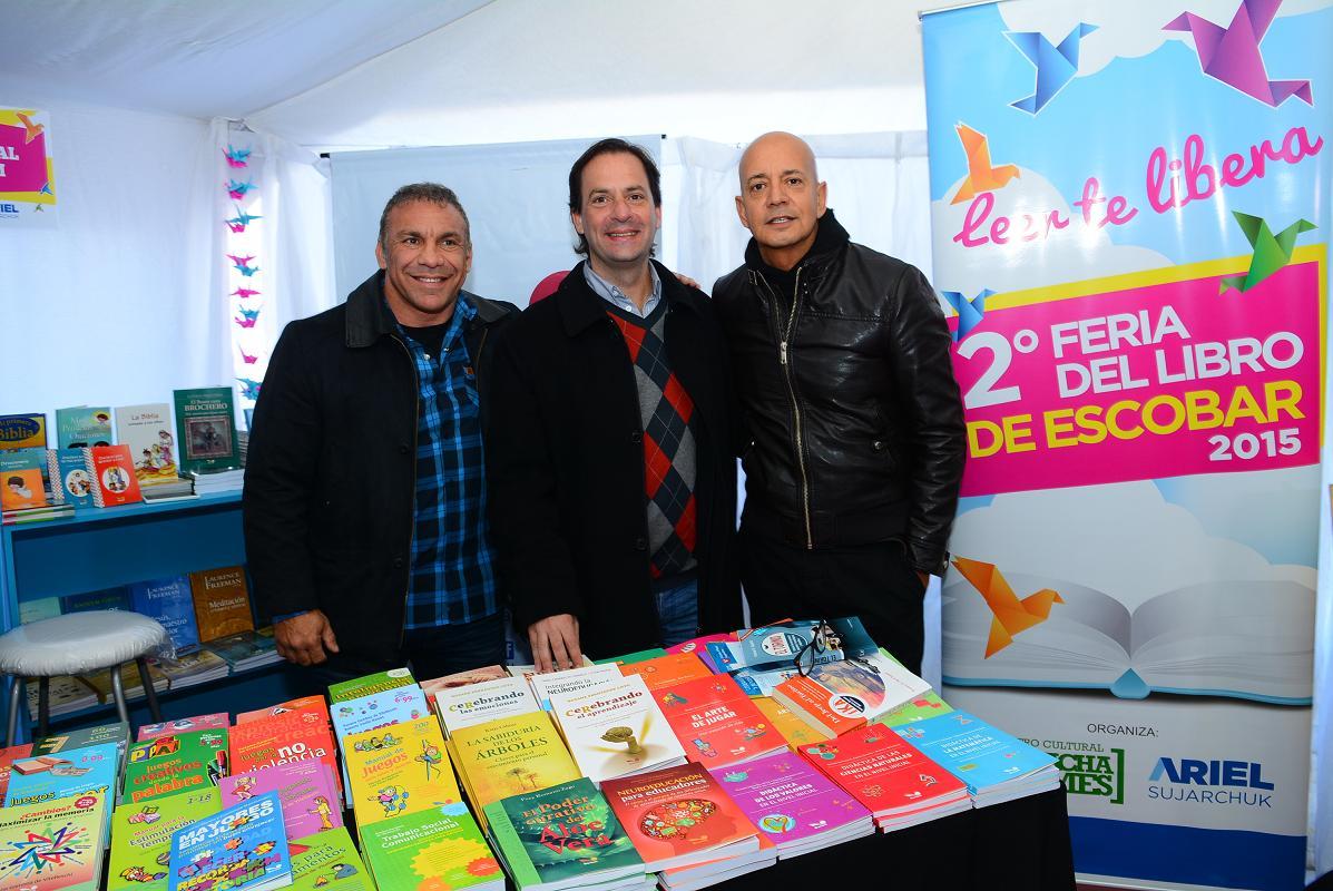 """Jorge """"Acero"""" Cali, Ariel Sujarchuk y el Bahiano"""