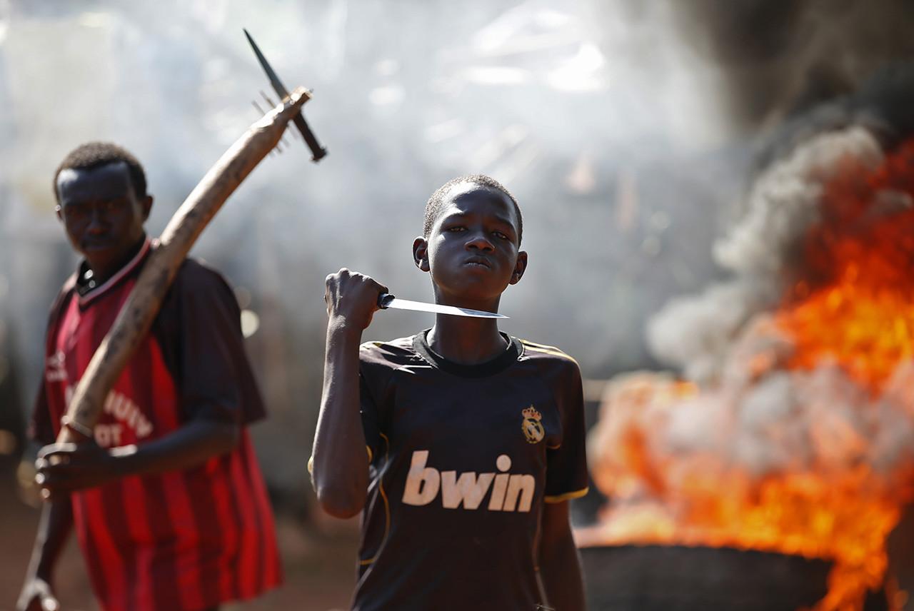 3) República Centroafricana
