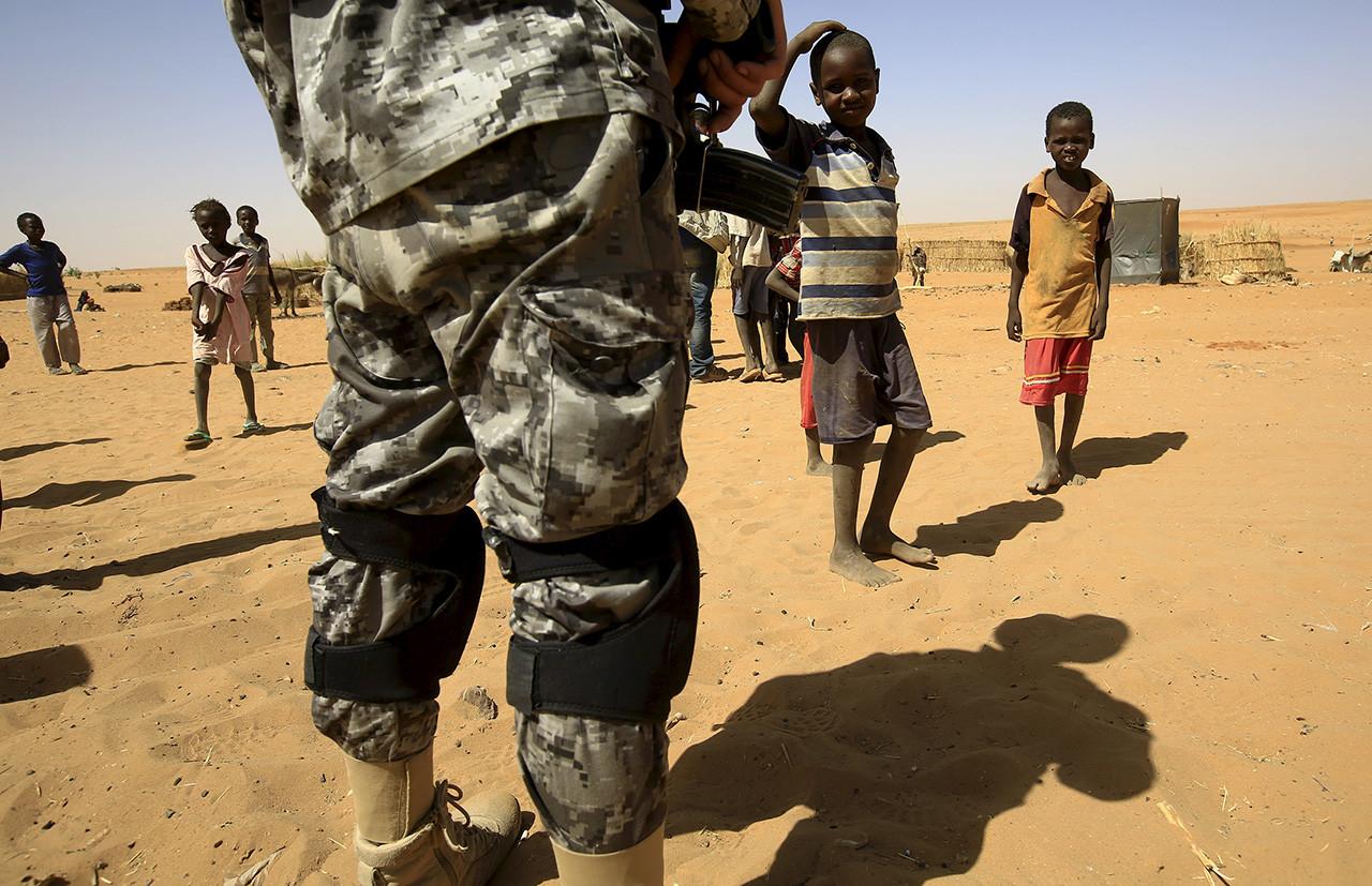 4) Sudán