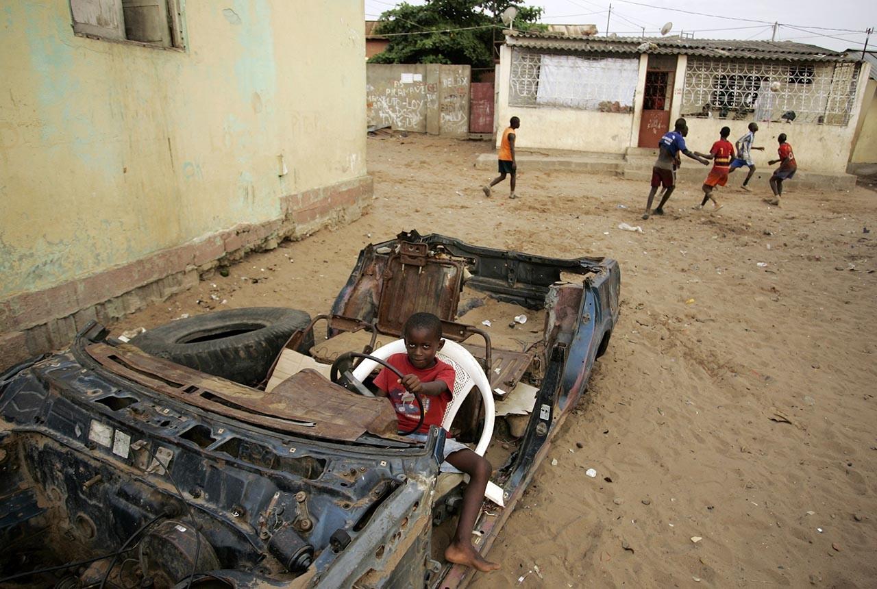 9) Angola