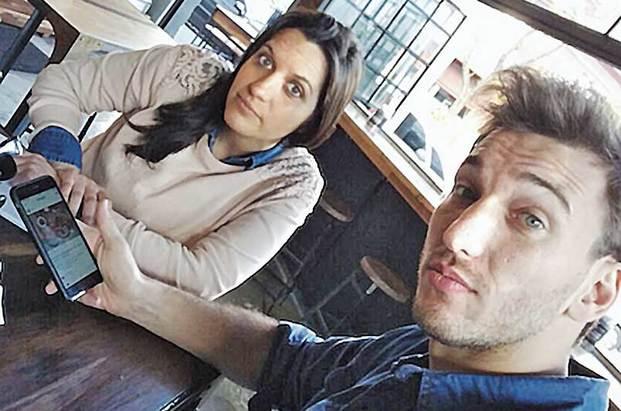Gabriela Wajnerman y Ariel Kosacoff, los creadores de la aplicación