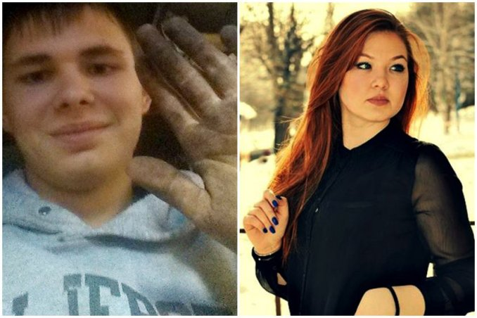 Artem S, 18, y Anna D, 20