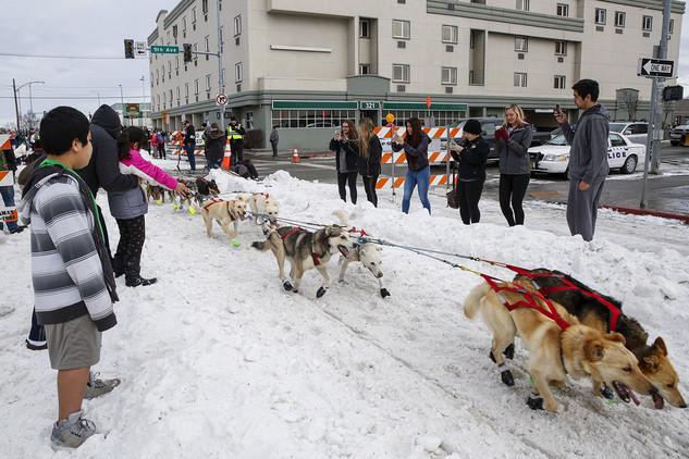 Anchorage, en el Estado de Alaska (EE.UU.)