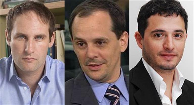 Rodrigo Álvarez, Fausto Spotorno y Ramiro Castiñeira