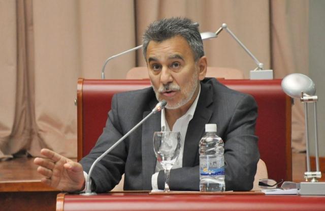 Eduardo Conde, diputado de Cambiemos que reveló la reunión ante la Justicia