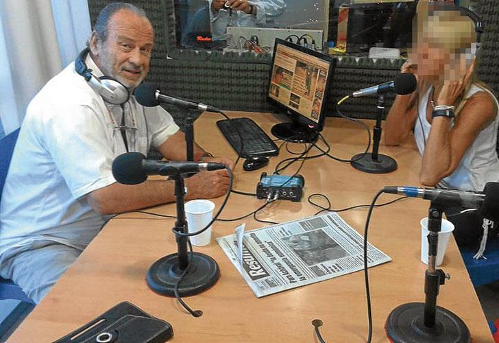 Horacio García Belsunce conduce el programa De frente por Radio X de Pilar
