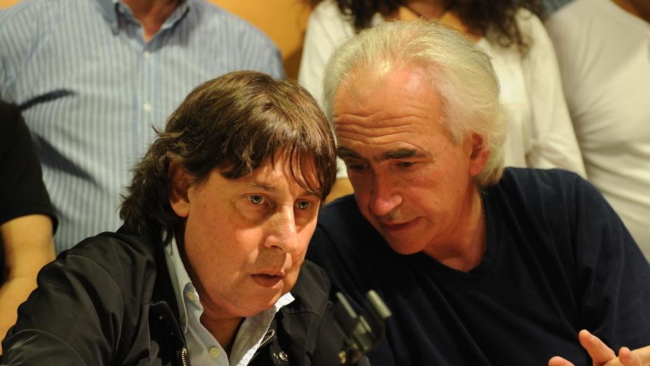 Pablo Micheli y Ricardo Peidro