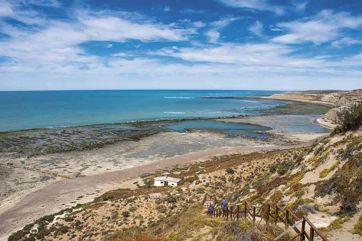 Puerto Madryn y Puerto Pirámides son los puntos de partida para explorar a pie, en vehículo o en barco esta zona de la Patagonia atlántica.