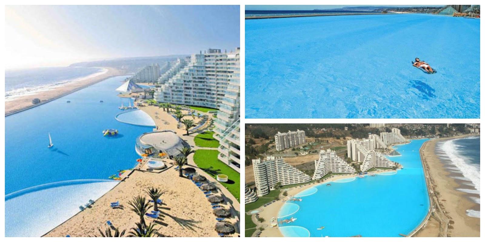 C mo es la piscina m s grande del mundo nexofin for Piscina mas grande del mundo chile