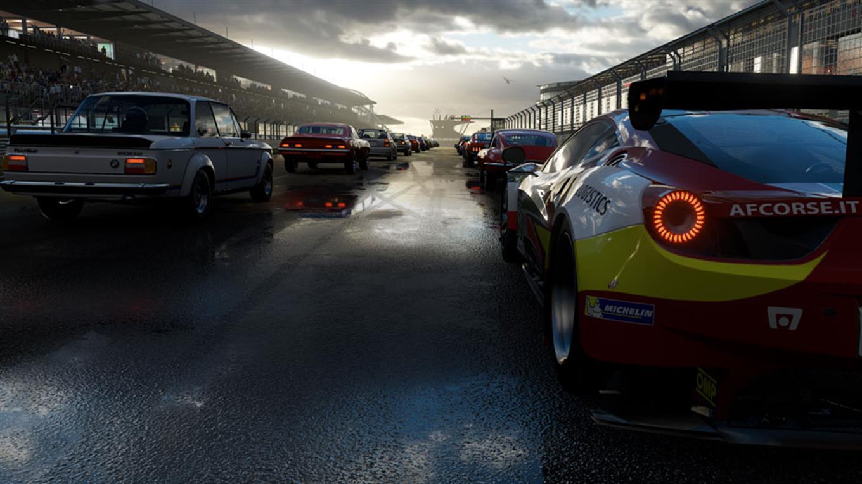 Así se verá Forza Motorsport en la consola de Microsoft conocida como Project Scorpio.
