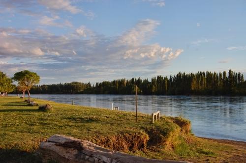 Uno de los paisajes con los que cuenta Choele Choel