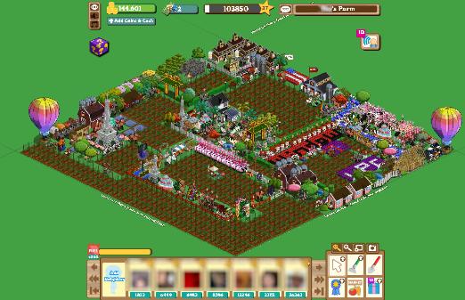 El videojuego Farmville