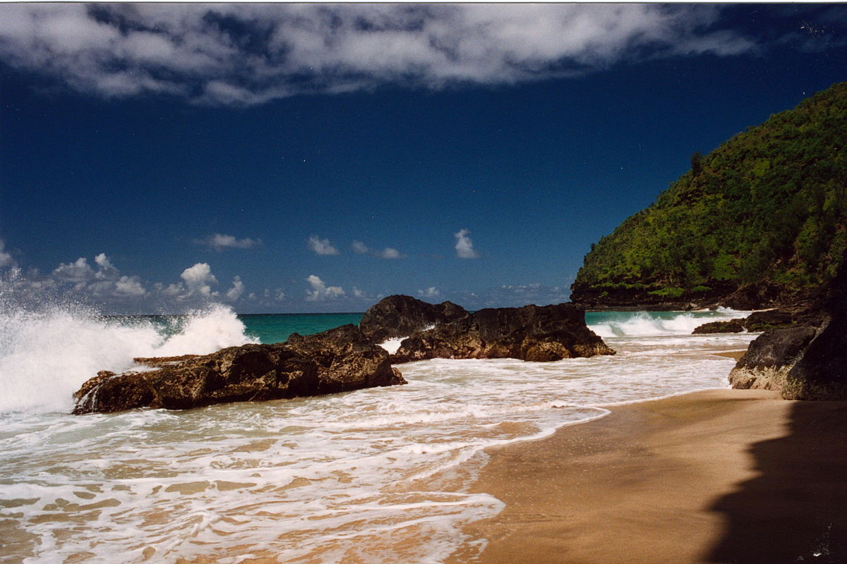 Hanakapiai Beach Hawaii