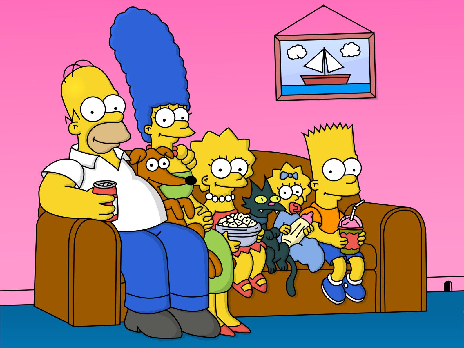 Los Simpson, hoy.