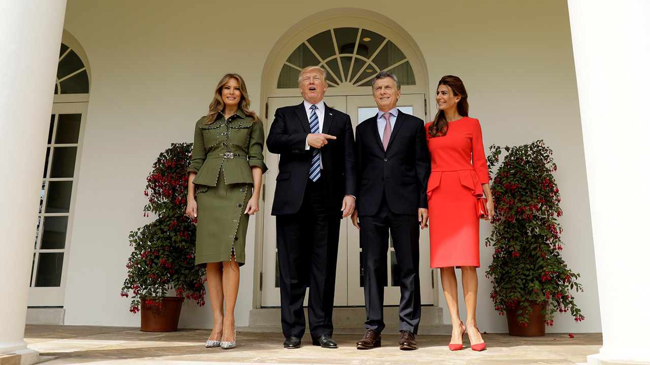 Macri - Trump