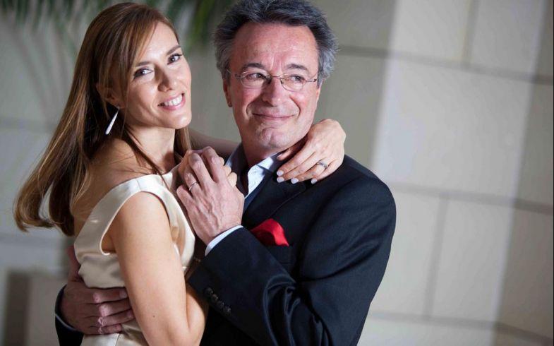 Oscar Martínez y Marina Borenztein