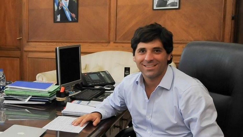 Sebastián García de Luca, viceministro del Interior