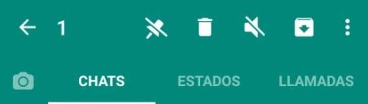 El anclaje, la nueva función de WhatsApp