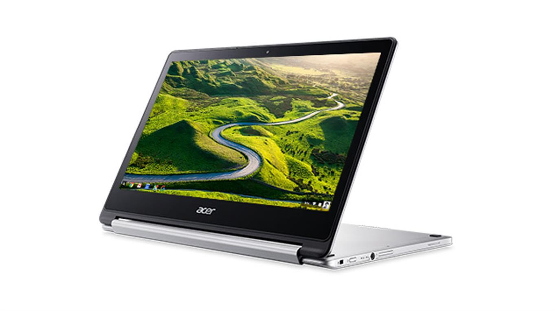 Acer Chromebook R13 es un modelo con pantalla de 13,3 pulgadas y diseño rebatible.