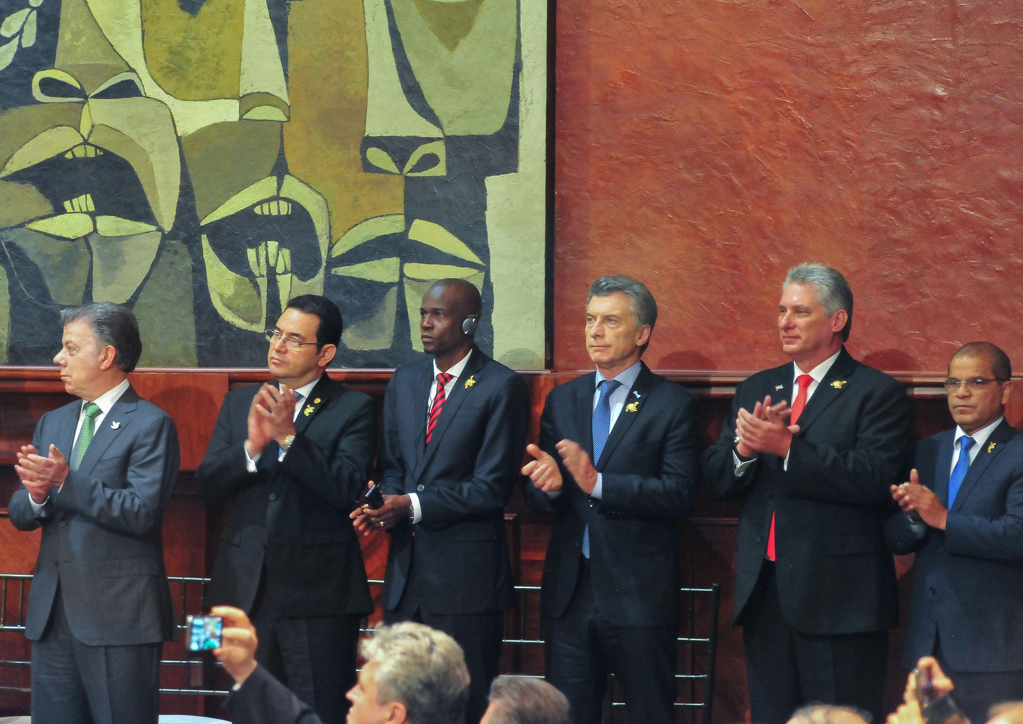 Macri en Ecuador