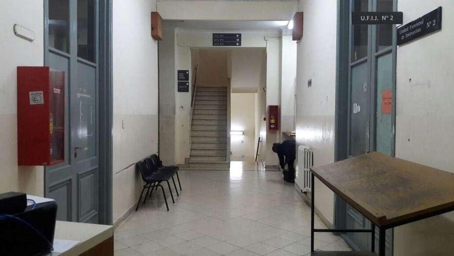 Así estaba la Fiscalía de La Plata donde fue agredido el fiscal Cartasegna.